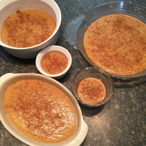 Crustless Keto Pumpkin Pies