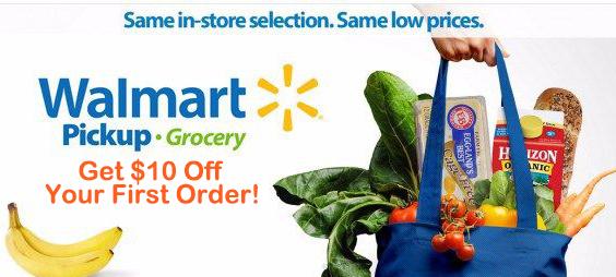 Try Walmart Grocery Pickup