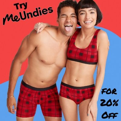 Try Me Undies for 20% Off Your First Order